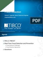 TIBCO Fraud Detection