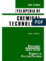 Chemical technology othmer pdf of kirk encyclopedia