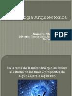 Teleologia Arquitectonica