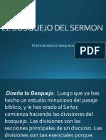 6-El Bosquejo Del Sermon