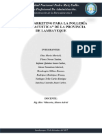 Plan de Marketing Para La Polleria Concha Acustica de La Provincia de Lambayeque