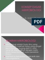 Konsep Dasar Mikrobiologi Power Point