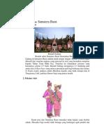 Sosial Budaya Sumatra Barat
