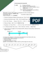 Formula Para El Calculo de Celdas de Flotacion