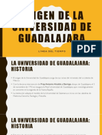 Origen de La Universidad de Guadalajara