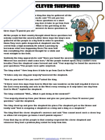 the clever shepherd reading simple past tense.pdf
