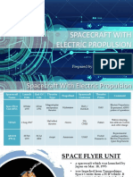 Report 1 Spacecraft With Electric Propulsion PURIO Presentation