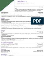 Hayden Le - Fall 2018 Resume.pdf
