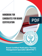 BCMTMS Candidate Handbook 2018