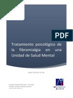 Fibromialgia psicologia