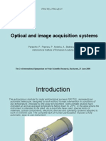Optical and image acquisition systems