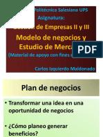 Modelo de Negocio y Estudio de Mercado