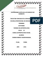 Teorias de La Antropologia PPPPP