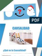 Causalidad - Azar - Caos