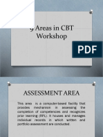 9 Areas in CBT Workshop