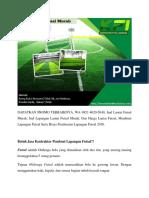 DAPATKAN PROMO TERBAIKNYA, Jual Lantai Futsal Murah, WA 0821-8620-5040