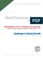 Las proyecciones del FMI para la economía de la Argentina