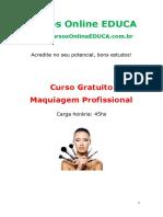 Curso Maquiagem Profissional 08552