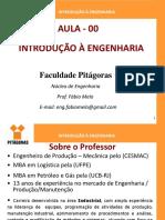 Introdução à Engenharia - Aula 00 Apresentação