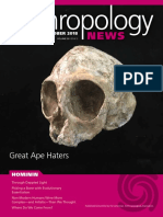 Anthropology News Sep Oct 18