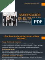 Presentación de Satisfacción en El Trabajo