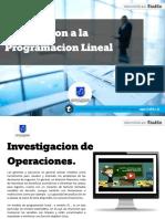 INTRODUCCION A LA PROGRAMACION LINEAL- JULIO MORENO TAYLOR
