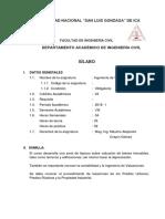 Silabo x Competencia 2018 II - Ingeniería de Valuaciones