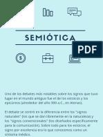 presentación semiótica de Saussure