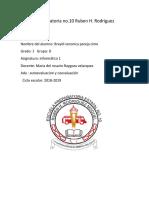 Autoevaluacion y Coevaluacion Info.