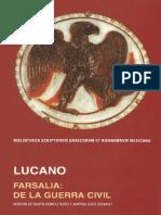 Lucano - Farsalia. de La Guerra Civil (Ed. Bilingüe UNAM]