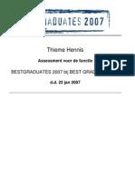 PsychProfile - BestGraduates 2007