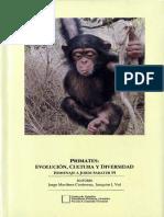 Primates Evolucion Cultura y Diversidad