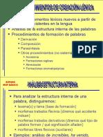 EAzofra-Repaso muy básico-Procedimientos de creación léxica.pps