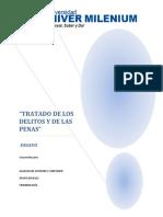 Tratado de Los Delitos y Las Penas Beccaria