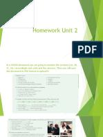 Homework Unit 2 2C17