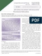Intramedullary Tuberculoma Concomitant with Intracerebral Disseminated Tuberculoma