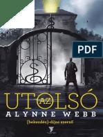 Alynne  Webb - Az utolsó (beleolvasó)