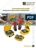 Earth - Ground Resistance and Soil Resistivity Testers