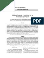 Albendazol en El Tratamiento de La HP