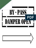 Economiser Damper Open