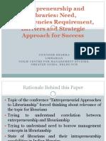 Intrapreneurship Paper Presentation