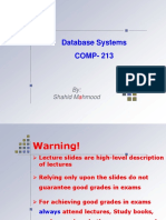 DBS-18 SQL2 DDL, DML