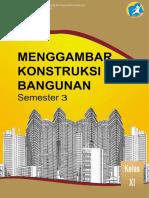 Buku REV.menggambar Konstruksi Bangunan SEMESTER 3