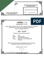 Check List Perlengkapan Haji Perempuan