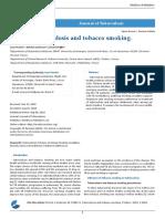 Tuberculosis and Tobacco Smoking.