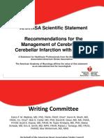 Management of cerebellar