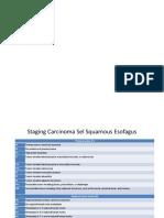 Staging Esofagus