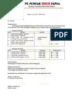 Contoh Surat Dukungan HOTMIX