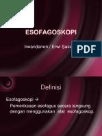 ESOFAGOSKOPI