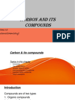 Carbon and Its Compouds